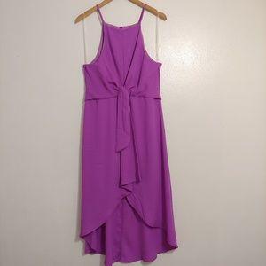 Fashion Nova. High-low dress.